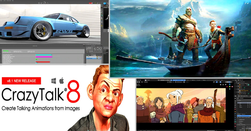 3D Animation Software 2021