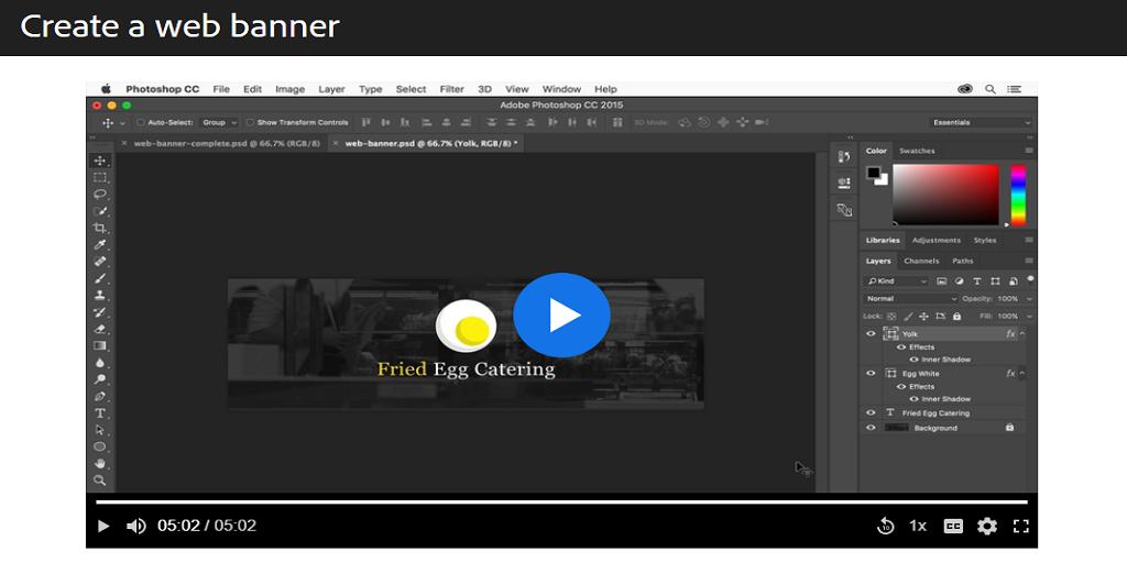 Adobe Photoshop Banner Maker